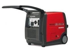HONDA EU30ik | 3kVA Portable Quiet Inverter/Pure Sine Wave Generator with Wheels | GENERATORshop.co.nz