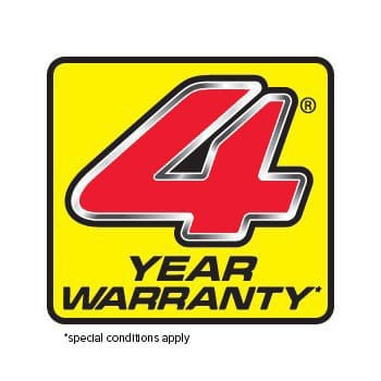 HONDA 4 year WARRANTY
