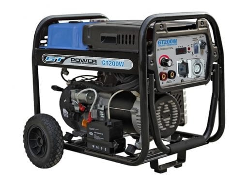 GT POWER GT200W | 5500W 200A welder generator w/ Electric Start