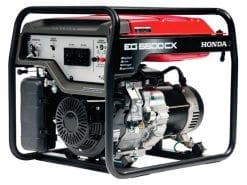 HONDA EG5500CX | 5.5kVA D-AVR conventional generator