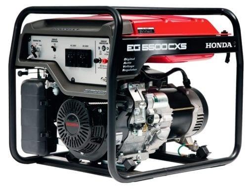 HONDA EG5500CXS | 5.5kVA D-AVR conventional generator w/ Electric Start