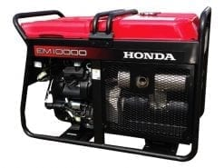HONDA EM10000 | 9kVA D-AVR conventional generator w/ Electric Start