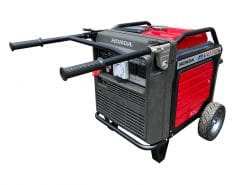 HONDA EU70is 32A | 7kVA 32Amp Socket Portable Quiet Inverter/Pure Sine Wave Generator with Electric Start and Wheels