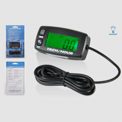 DIGITAL TACH HOUR METER | Multi functional with Backlight LCD and Replaceable Battery | GENERATORshop.co.nz