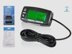 DIGITAL TACH/HOUR METER | with replaceable battery IP65