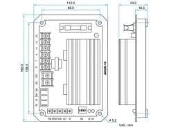 ADVR-16 | UNIVERSAL 16AMP Hybrid Analog-Digital Self Excited Automatic Voltage Regulator