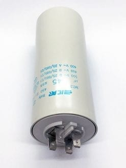 ICAR 45µF RUN CAPACITOR With Terminals