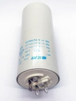 ICAR 50µF RUN CAPACITOR With Terminals