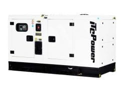 DKU18KSEm | 17.6kVA Enclosed Canopy Standby Diesel Generator with Kubota Engine and Stamford Alternator, Single Phase