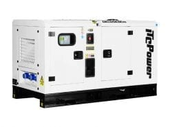 DKU25KSEm | 25.3kVA Enclosed Canopy Standby Diesel Generator with Kubota Engine and Stamford Alternator, Single Phase