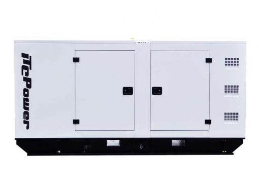 DC110KSE | 110kVA Enclosed Canopy Standby Diesel Generator with Cummins Engine and Stamford Alternator, Three Phase