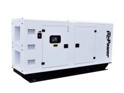 DC125KSE | 125kVA Enclosed Canopy Standby Diesel Generator with Cummins Engine and Stamford Alternator, Three Phase