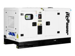 DC44KSE | 44kVA Enclosed Canopy Standby Diesel Generator with Cummins Engine and Stamford Alternator, Three Phase