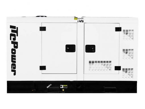 DC55KSE | 55kVA Enclosed Canopy Standby Diesel Generator with Cummins Engine and Stamford Alternator, Three Phase