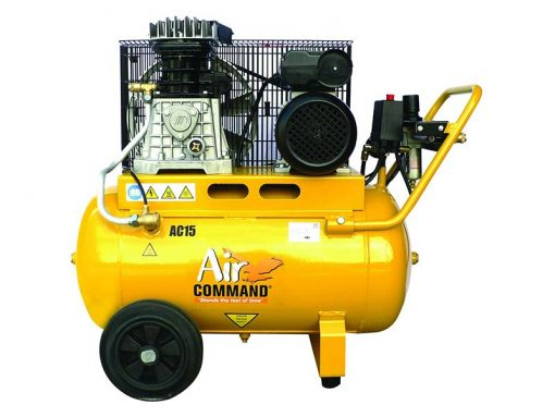 AIR COMMAND AC15 | 15CFM / 425L/min, 50L Tank 3HP Belt Drive Air Compressor