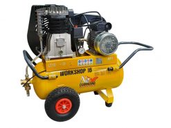 AIR COMMAND WS16DC Workshop 16 | 14.9cfm, 421L/min, 50L Tank, 3HP Industrial Single Phase Dual Control Air Compressor