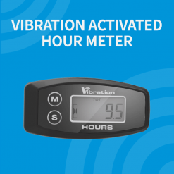 Digital Wireless Vibration Hour Meter | Vibration Activated, Works on Any Engine | GENERATORshop.co.nz