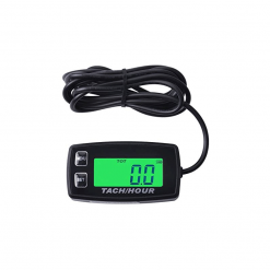 DIGITAL TACH HOUR METER MARINE TYPE | Multi functional with Backlight LCD and Replaceable Battery | GENERATORshop.co.nz