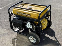 *SECOND HAND* TITAN 9000E | 8kW Conventional Petrol Generator with Electric Start and Wheels