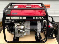 *SECOND HAND* HONDA EG5500CXS   5.5kVA Conventional Generator With Electric Start and Digital AVR (Automatic Voltage Regulator)   GENERATORshop.co.nz