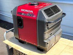 *SECOND HAND* HONDA EU30is | 3kVA Portable Quiet Inverter/Pure Sine Wave Generator with Electric Star | GENERATORshop.co.nz