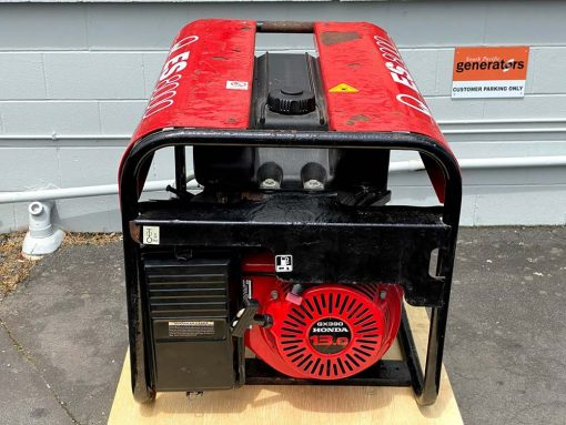*SECOND HAND* PRAMAC ES8000 | 7.2kVA Mecc Alte Generator Powered by HONDA Motor | GENERATORshop.co.nz