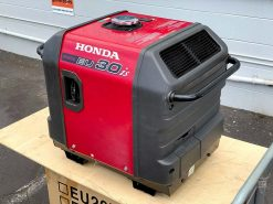 SECOND HAND HONDA EU30is | 3kVA Portable Quiet Inverter/Pure Sine Wave Generator with Electric Star | GENERATORshop.co.nz